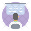Lecture Training Classroom Lecture Icon