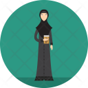 Lecturer Muslimah Religion Icon