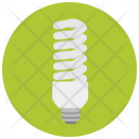 Energy Efficient Lightbulb Icon