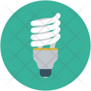 Led Lamp Bulb Icon