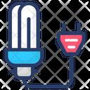 Led Bulb Saver Bulb Efficient Light Icon