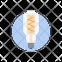 Led Bulb Electric Power Bulb Icon