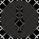 Led Lamp Round Icon