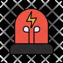 Led Lamp Electronic Lamp Led Bulb Icon