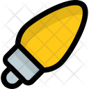 Candle Bulb Light Icon