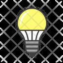 Led Light Bulb Lamp Led Icon