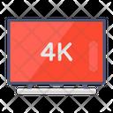 Led Tv Hd Tv Smart Television Icon
