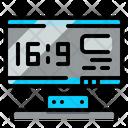 Led Tv Icon
