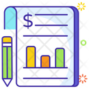 Ledger Business Report Business File Icon