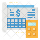 Ledger Money Business Icon