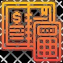 Ledger Money Calculator Icon