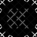 Left Arrow Speed Icon