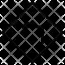 Left Arrow Direction Icon