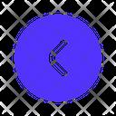Left Previous Navigation Icon