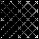 Left Layers Data Icon