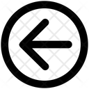 Arrow Material Left Icon
