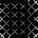 Alignment Left Text Icon