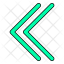 Symbol Arrow Button Icon