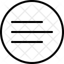Left Position Align Icon