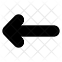 Left Arrow Chevron Icon