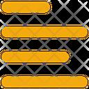 Interface Left Alignment Icon