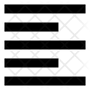 Text Left Mini Icon