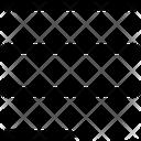 Align Left Text Icon