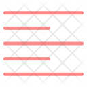 Align Left Format Icon