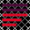 Left Justify Align Icon