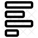 Left Align Align Text Icon