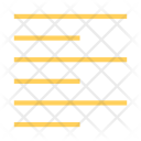 Left Foramt Alignment Icon