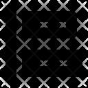 Left Horizontal Align Icon