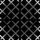 Align Arrows Center Icon