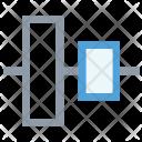 Left Alignment Tool Icon