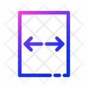 Left And Right Arrow Icon