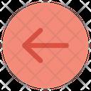 Arrow Left Sign Icon