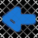 Left Arrow West Icon
