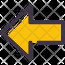 Arrow Left Previous Icon