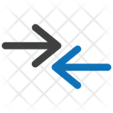 Left Arrow One Way Direction Icon
