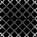 Left Arrows Diagonal Icon