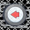 Go Left Left Arrow Back Arrow Icon