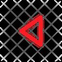 Left Arrow Navigation Direction Icon