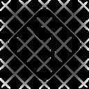Left Arrow Sign Icon