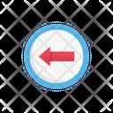 Board Arrow Left Icon