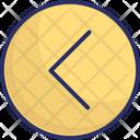 Arrow Back Direction Icon