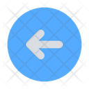 Circle Left Arrow Icon