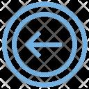 Left Arrow Directional Icon