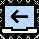 Electronic Technology Left Arrow Modern Technology Icon