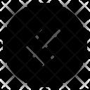 Round Double Pointer Icon