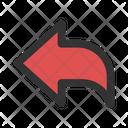 Left Arrow Back Arrow Icon